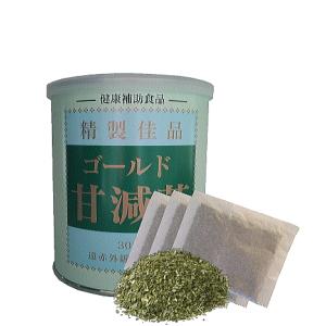 ゴールド甘減茶1缶のイメージ