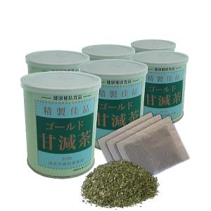 ゴールド甘減茶6缶のイメージ